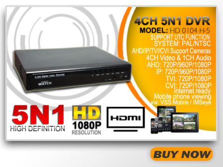 4CH 5N1 DVR