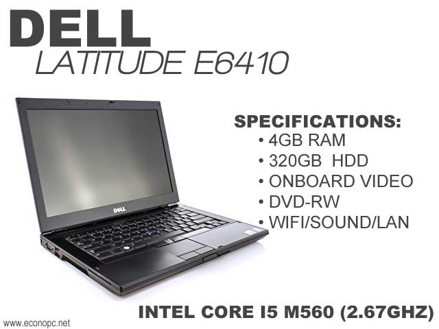 Latitude E6410 Wireless